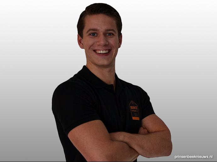 Martijn Boere (19) start webwinkel met fietsaccessoires