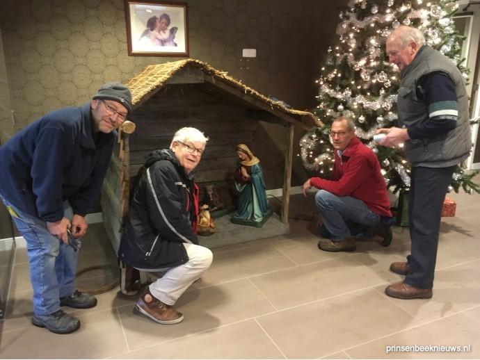 Kerststalbouwers kerk ook in Hagedonk