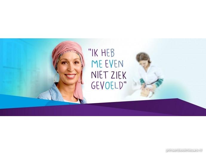 Verwenmoment voor vrouwen met kanker