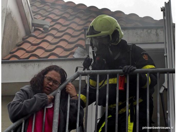Grote oefening brandweer en EHBO