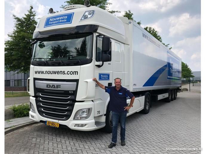 Open dag voor chauffeurs bij Nouwens Transport