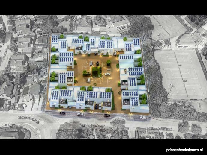 Nieuwbouwplan heikantsestraat prinsenbeek van de wiel for Blok makelaardij