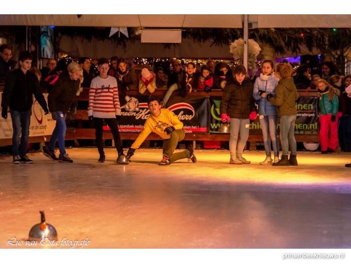Kindercompetitie ijs jeu de boules