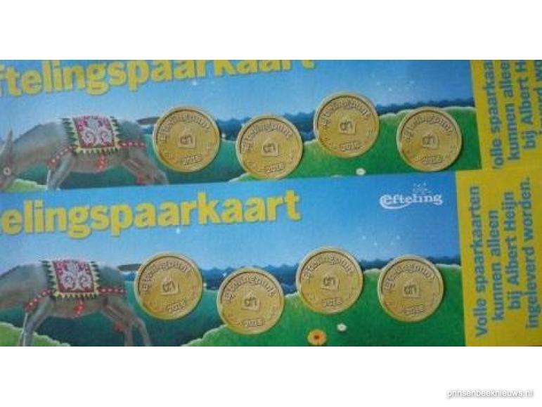 Ah Efteling Spaarkaarten.Eftelingzegels Voor Hagedonk Prinsenbeeknieuws