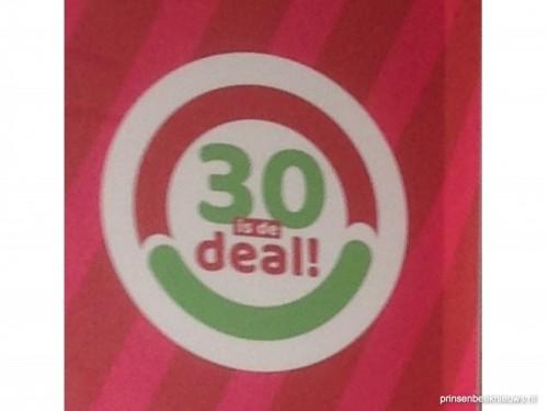 Winnaar '30 is de deal' week 40