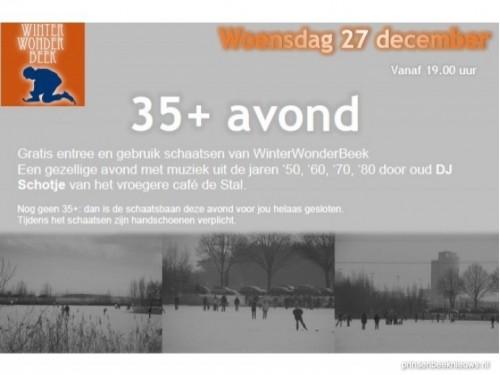 35+ Schaatsavond WinterWonderBeek