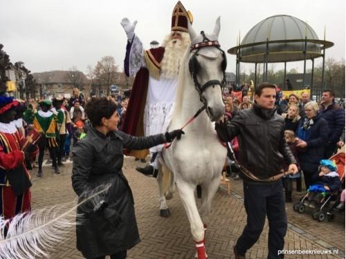 Aankomst Sinterklaas in Prinsenbeek