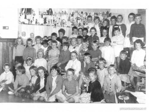 Reünie 2e klas Mariaschool 1963-'64