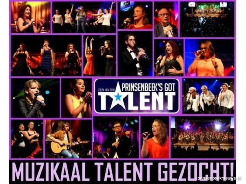 Muzikaal talent gezocht