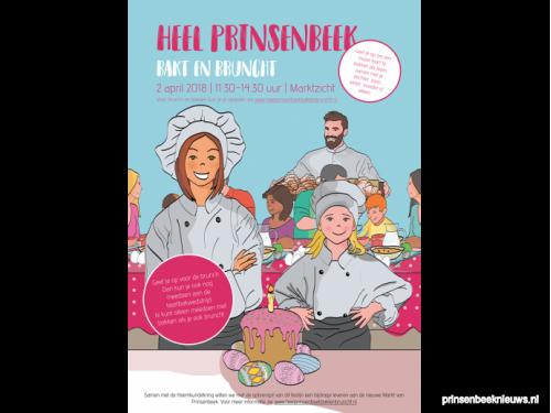 Heel Prinsenbeek bakt en bruncht