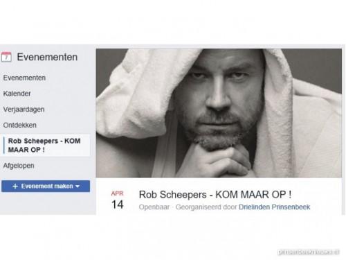 Rob Scheepers in De Die Linden