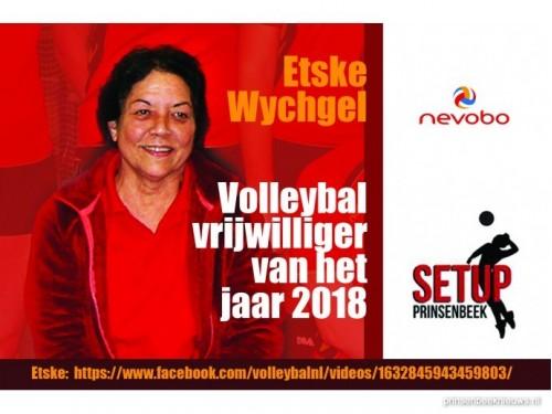 Etske volleybalvrijwilliger van het jaar