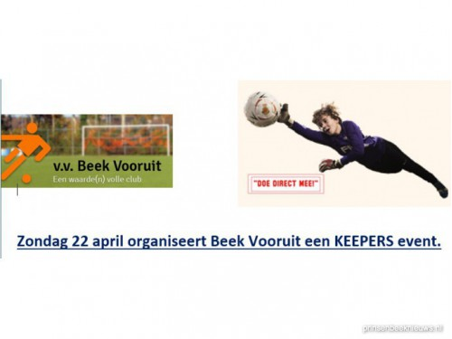 Beek Vooruit Keepers event