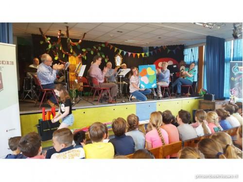Grote belangstelling slot Amor Musae Scholenproject Griffioen