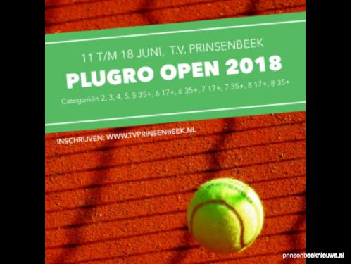 Inschrijven open tennistoernooi
