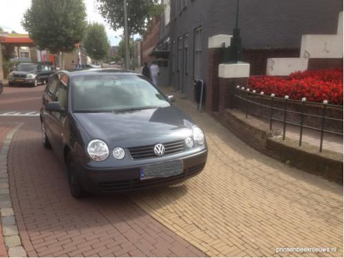 'Parkeer op daarvoor aangewezen plekken'