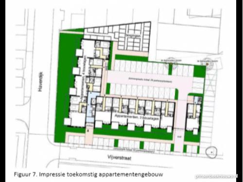 Plan 36 appartementen locatie Michaël