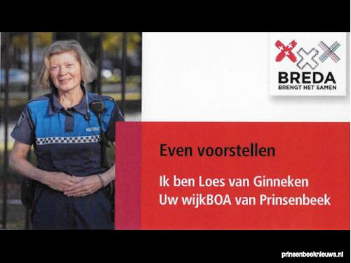 Loes van Ginneken boa Prinsenbeek