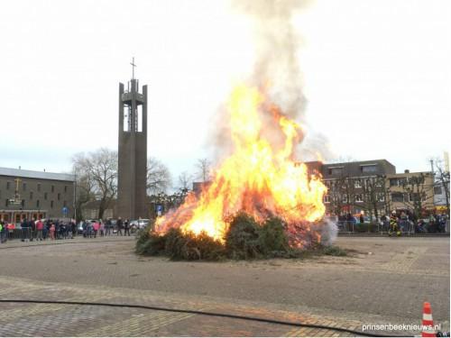 Kerstboom-verbranding 13 januari