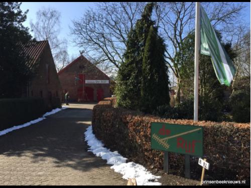 Museum De Rijf in wintersfeer