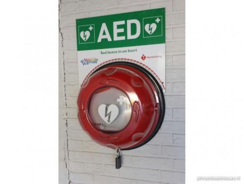 Vier AED-apparaten gestolen