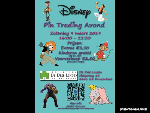 Tiende Disney Pin Ruil Avond
