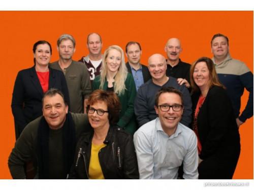 Vernieuwd team Oranje Comité aan de slag