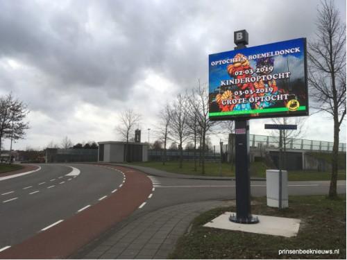 Eerste aankondigingen op billboard