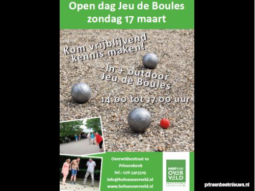 Open dag jeu-de-boules