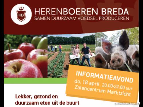 Infoavond Herenboerderij bij Prinsenbeek