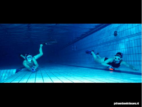 Jeugdtoernooi onderwaterhockey