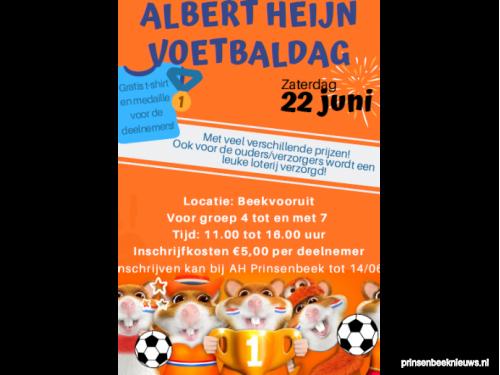 AH voetbaldag voor kinderen