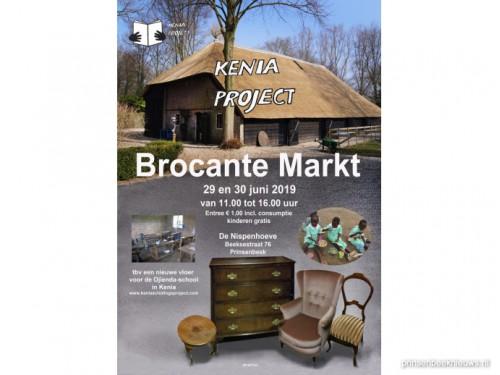Brocante Markt voor Keniaproject
