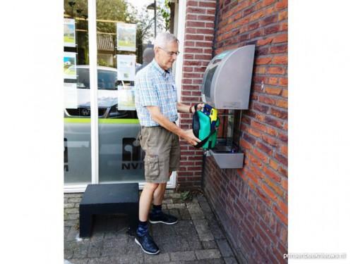 Vervanging AED-batterijen mogelijk door donaties