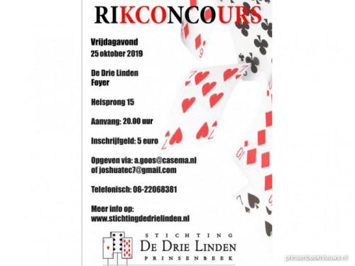 Aanmelden rikconcours DDL