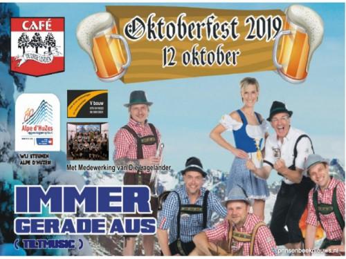 Oktoberfest voor Alpe d'HuZes