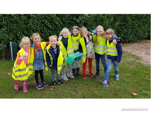 Kinderen in actie voor schone buurt