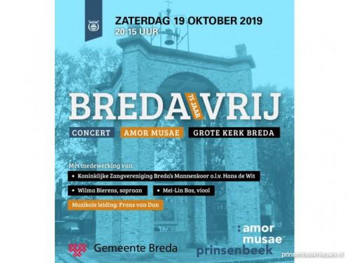 Concert Amor Musae 'Breda 75 jaar vrij'