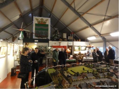 Museum De Rijf zondag in kerstsfeer