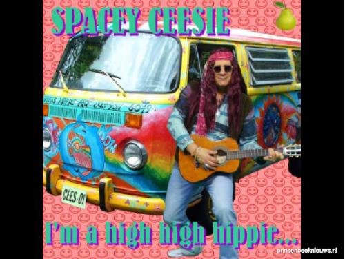 I'm a high high hippie