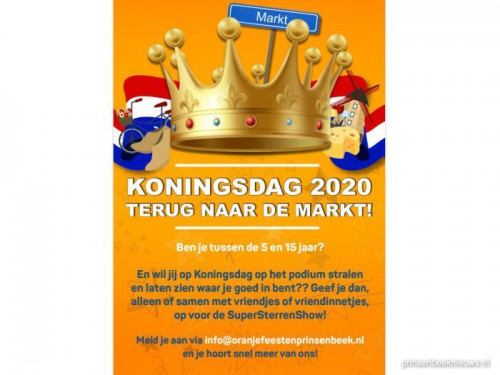 SuperSterrenShow Koningsdag