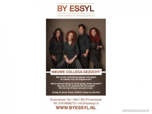 By Essyl zoekt nieuwe collega