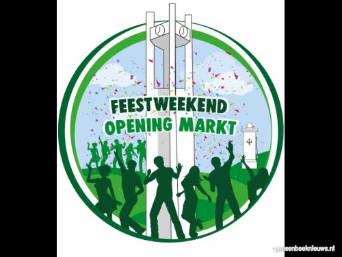 Openingsfeest Markt jaar verschoven