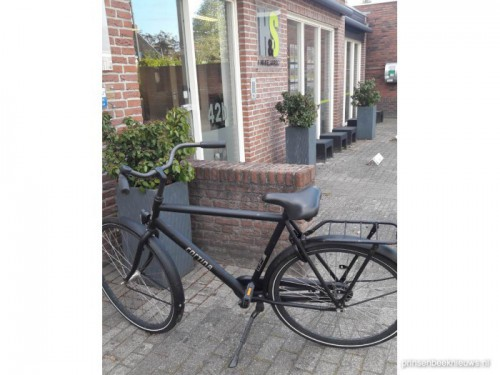 Van wie is deze Cortina-fiets?