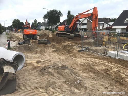 Woningen Velsgoed ontruimd na beschadiging gasleiding