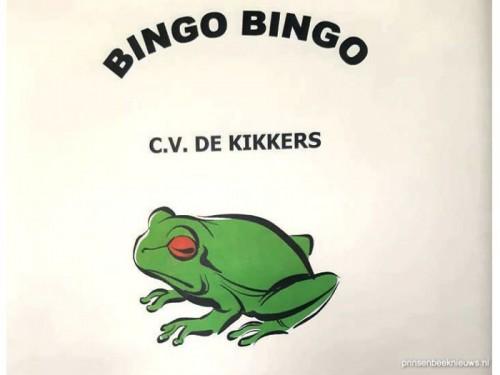 Geen sponsorbingo Kikkers