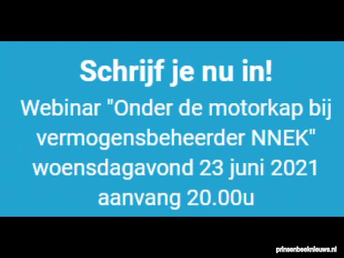 Webinar 'Onder de motorkap bij vermogensbeheerder NNEK'