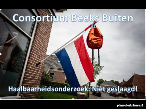 'Rapport Beeks Buiten is broddelwerk'
