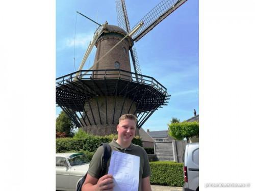 Coen (19) vakbekwaam molenaar