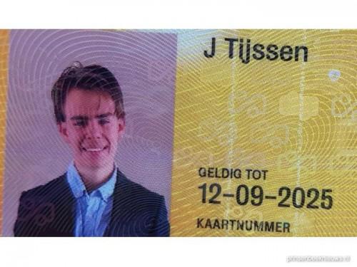 OV-kaart J. Tijssen gevonden